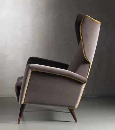 Gio Ponti, 'Pair of Bergere armchairs', 1950