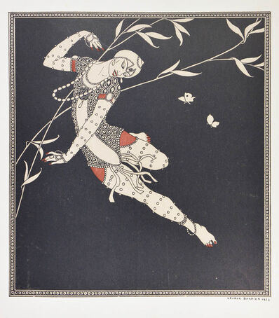 George Barbier, 'BARBIER, George; MIOMANDRE, Francis de.  Designs on the Dances of Vaslav Nijinsky. ', 1913