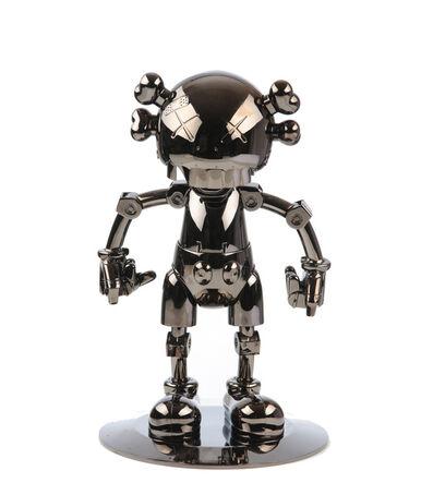 Kaws x Hajime Sorayama, 'No Future Companion, Black Chrome', 2008