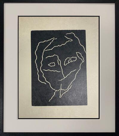 Hans Arp, 'Head with Seismic Line', 1951-1952
