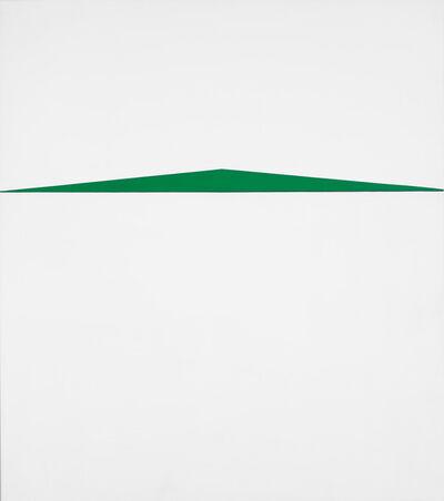 Carmen Herrera, 'Blanco y Verde', 1959