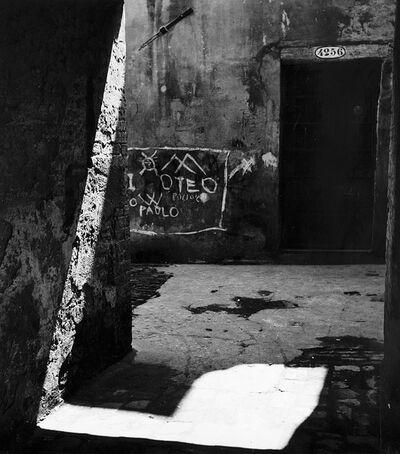 Paolo Monti, 'Cortile Veneziano', 1950
