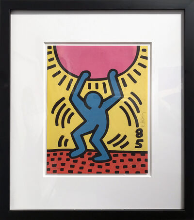 Keith Haring, 'International Youth Year', 1985