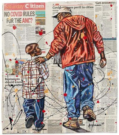 Andrew Ntshabele, 'The Greater Journey 2', 2020