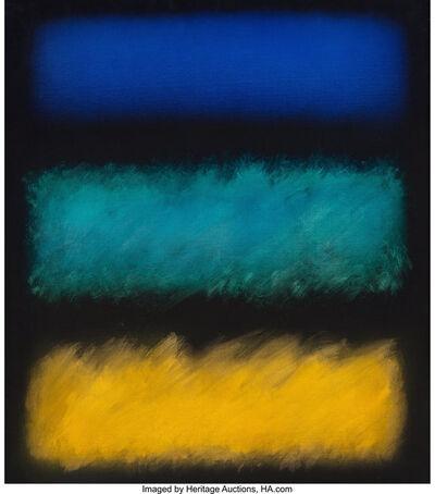 Eric Orr (1939-1998), '3 Ways', 1991