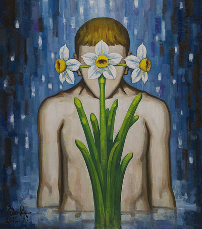 Feng Liu, 'Blossoming Of Daffodils', 2016