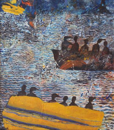 Tayseer Barakat, 'Shoreless Sea #14', 2019