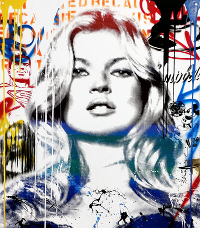 Mr. Brainwash, 'KATE MOSS', 2016