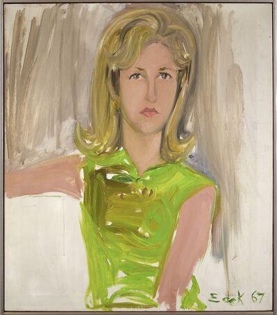 Elaine de Kooning, 'Portrait of Mary King Swayzee', 1967