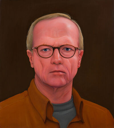 William Beckman, 'S.P., Brown on Brown', 2013