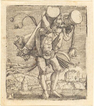 Albrecht Altdorfer, 'Hercules Bearing the Column of Gades', ca. 1520/1525
