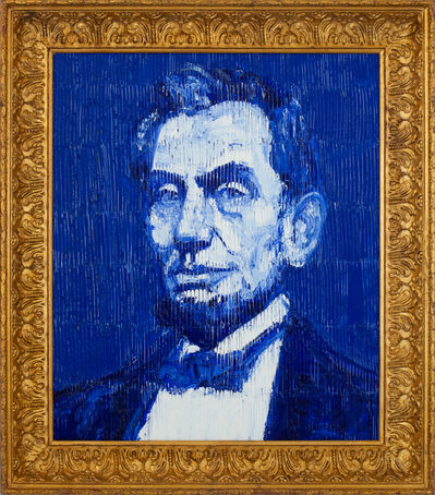 Hunt Slonem, 'President Lincoln', 2018