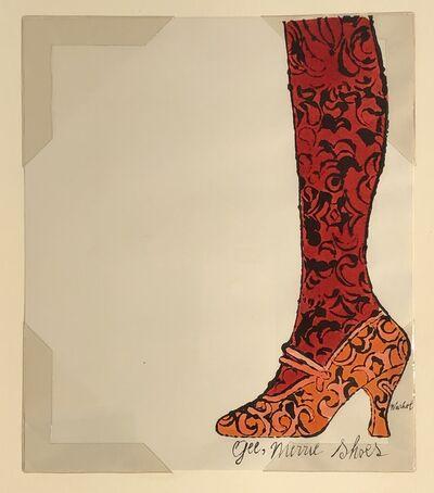 Andy Warhol, 'Gee Merrie Shoe', 1956