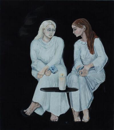 Meta Isaeus-Berlin, 'Systrarna går igenom nattens händelser 3, 2020', 2020