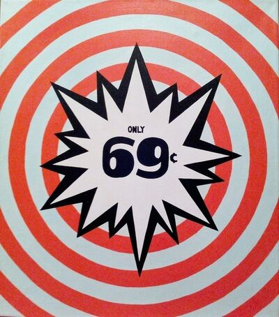 Roberto Cabot, 'Only 69 cent ', 1987