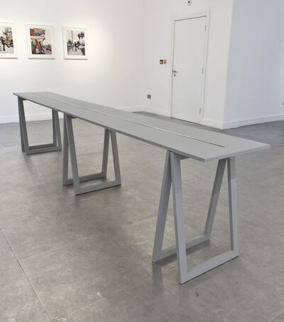 Stanley Brouwn, 'Height of 1+m', 1994
