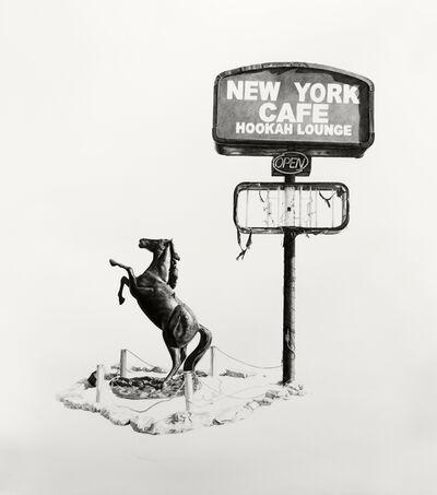 Joel Daniel Phillips, 'New York Cafe Hookah Lounge', 2017