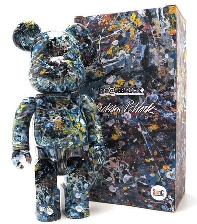 Jackson Pollock, '400% Bearbrick', 2018