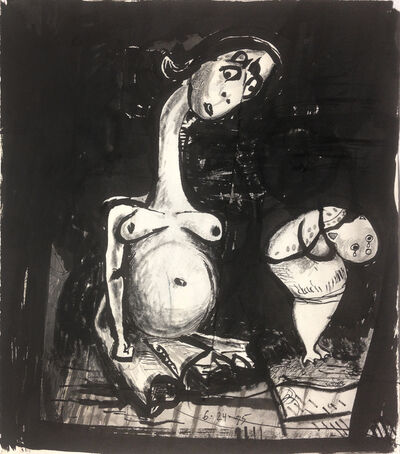 Dale Williams, 'Pregnant Mother and Weeping Child', 1995