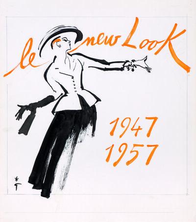 René Gruau, 'Le New Look, Maison Christian Dior'