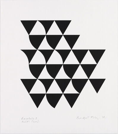 Bridget Riley, 'Bagatelle 3', 2015