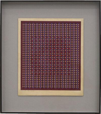 Lygia Pape, 'Vermelho (Quadrados)', 1950's