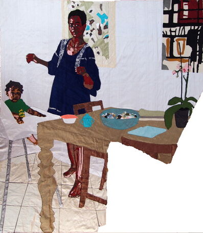 Billie Zangewa, 'Mother and Child', 2015