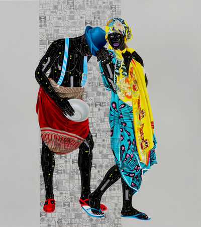 Eddy Kamuanga Ilunga, 'Fragile 2', 2018
