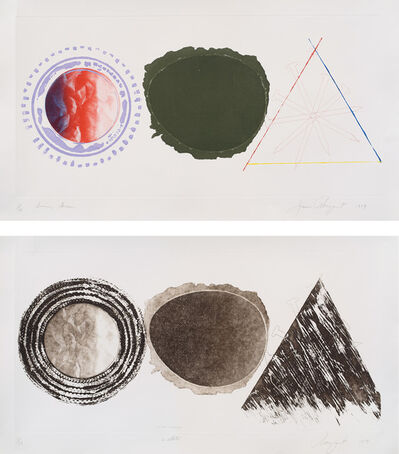 James Rosenquist, 'Swing Screen; and Swing Screen (second state) (S. 1979.44, G. 170-17A)', 1979