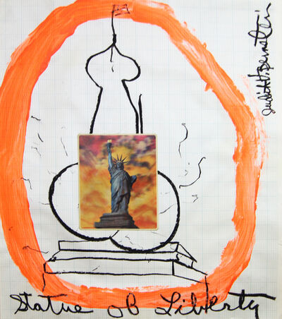 Judith Bernstein, 'Statue of Liberty', 1967