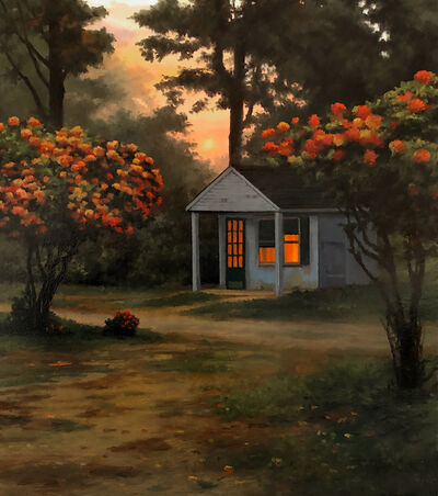 Scott Prior, 'Tourist Cabin', 2018