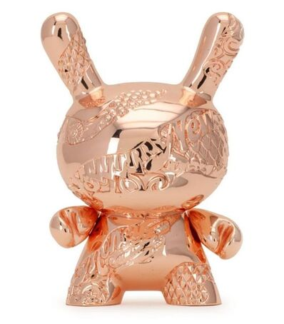 Tristan Eaton, 'Money Metal Dunny (Rose Gold Edition)', ca. 2019
