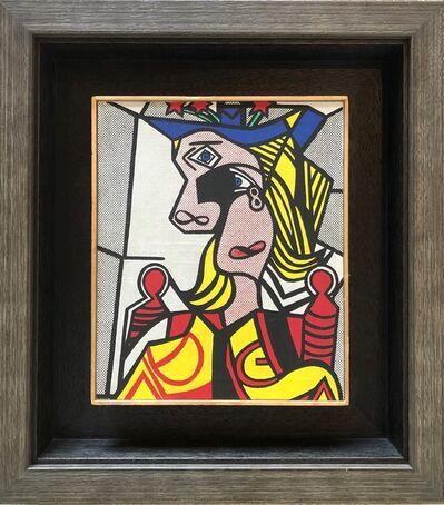 Richard Pettibone, 'Roy Lichtenstein, Woman with Flowered Hat, 1968', 1970