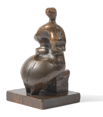 Henry Moore, 'Maquette for Seated Woman', 1957 (Cast 1978)