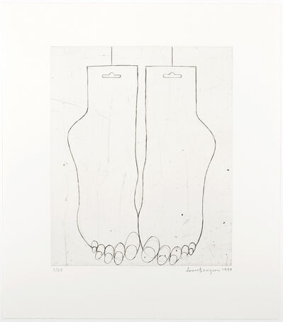 Louise Bourgeois, 'Feet', 1999