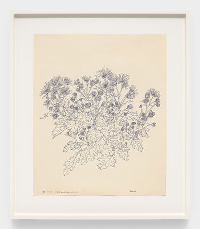 Ruth Asawa, 'Plath and Sons Nursery (PF.389, Chrysanthemum)', 1984