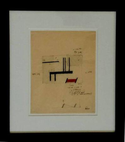 Jean Hélion, 'Oblique And  orthogonal', 1935