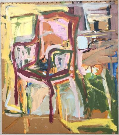 Diana Kurz, 'Chair Yellow on Side', ca. 1960
