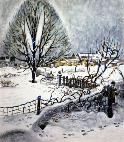 Charles Ephraim Burchfield, 'Day in Midwinter', 1945
