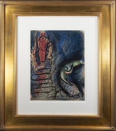Marc Chagall, 'Assuérus Chasse Vashti (Ahasuerus Sends Vashti Away), M 251/274', 1960