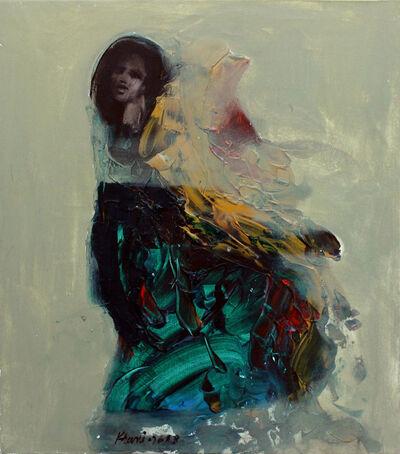 Khalid El-Khani, 'Blue & Black', 2018