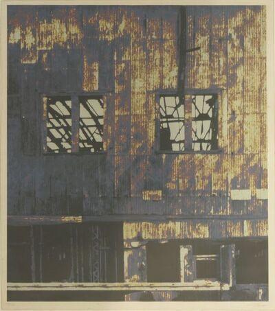 Gerd Winner, 'West Embankment Warehouse', 1975