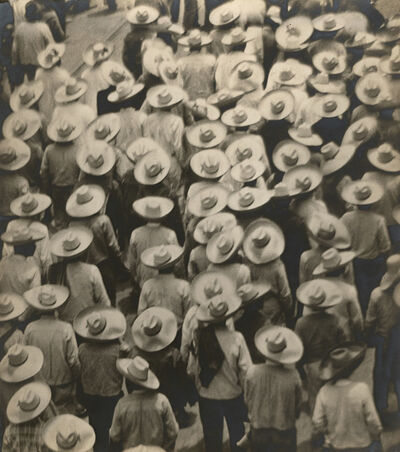 Tina Modotti, 'Campesinos (Workers' Parade)', 1926