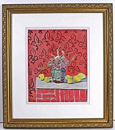 Henri Matisse, 'Lemons on Pink Fleur De Lis Background', 1943-1945