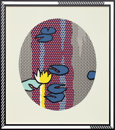 Roy Lichtenstein, 'Water Lilies - Blue Lily Pads, from Water Lilies Series', 1992
