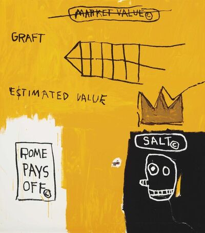 Jean-Michel Basquiat, 'Rome Pays Off - Set II', 1984-2005