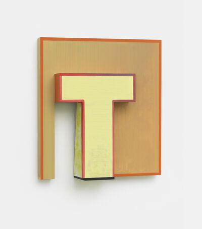 Thomas Scheibitz, 'Monogram (Relief)', 2017