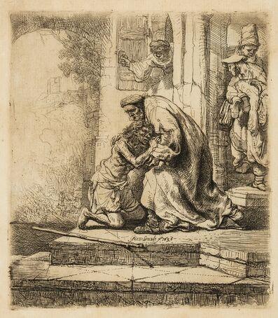 Rembrandt van Rijn, 'The Return of the Prodigal Son', circa 1636