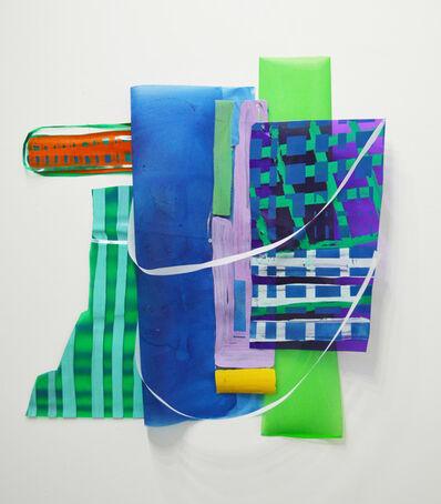 Ivelisse Jiménez, 'Else-were #5 (cosas transparentes con verde y azul)', 2015
