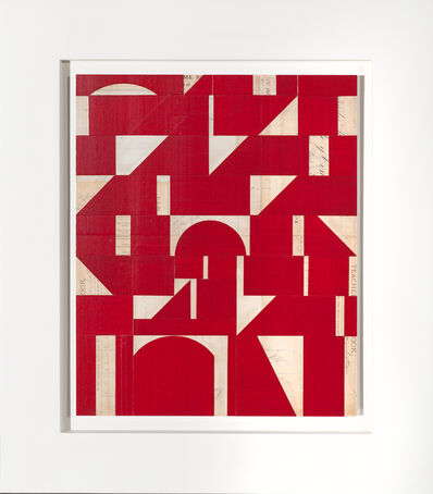 Robert Kelly, 'Invisible Cities XXII (red)', 2015